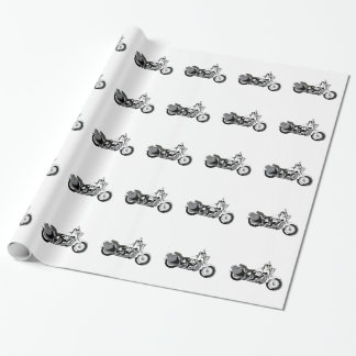Motorcycle Wrapping Paper