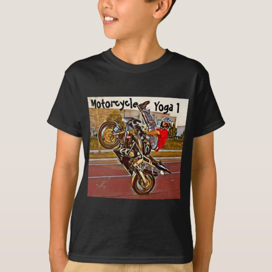 Motorcycle Yoga 1 T-Shirt
