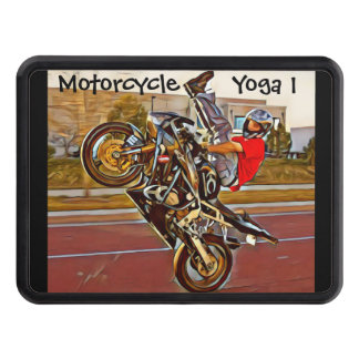 Motorcycle Yoga 1 Trailer Hitch Cover