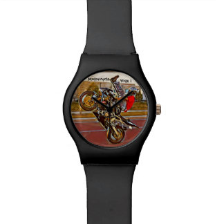 Motorcycle Yoga 1 Watch
