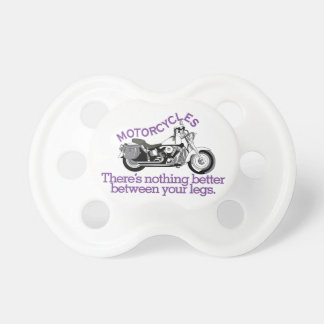 Motorcycles Baby Pacifiers