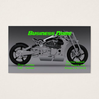 motorcycles repair business card