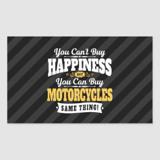 Motorcyclist Cant Buy Happiness Can Buy Motorcycle Sticker