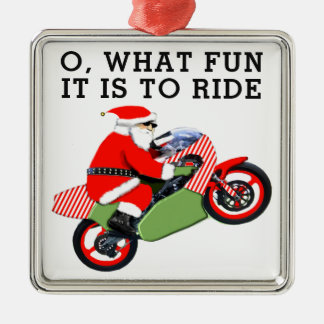 motorcyclist collectible metal ornament