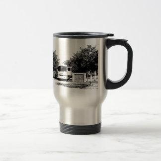 Motorhome in RV Park Travel Mug