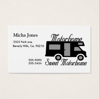 Motorhome Sweet Motorhome RV Business Card