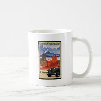 Motoring In Germany Coffee Mugs