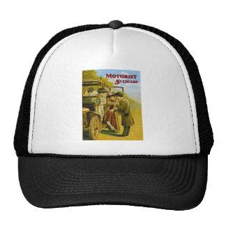 Motorist Cigars Advertisement - Vintage Trucker Hat