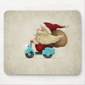 Motorized Santa Claus Mouse Pad