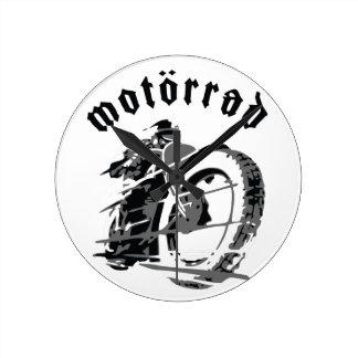Motörrad Rocker Wallclock