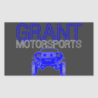 Motorsport sticker