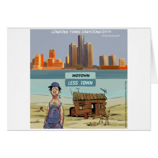 Motown LessTown Funny Card