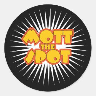 Mott the Spot sticker