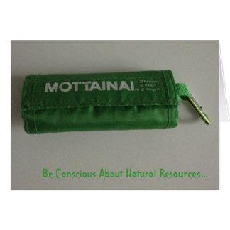 Mottainai - Don't Waste it! Card