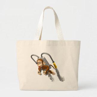 Mouche de singe sac en toile jumbo