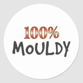 Mouldy 100 Percent Stickers
