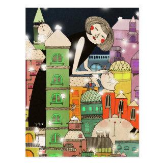 Mouldy city 2013 postcard