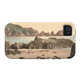 Moulin Huet Bay I, Guernsey, Channel Islands iPhone 4 Cover