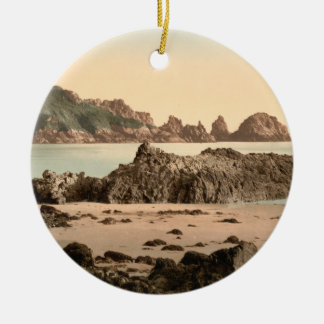 Moulin Huet Bay I, Guernsey, Channel Islands Ceramic Ornament