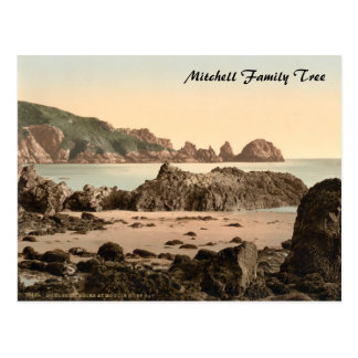 Moulin Huet Bay I, Guernsey, Channel Islands Postcard