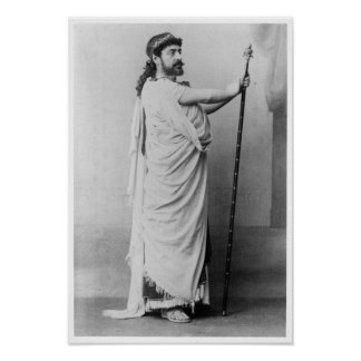 Mounet-Sully  as Oedipus in 'Oedipus Rex' Poster