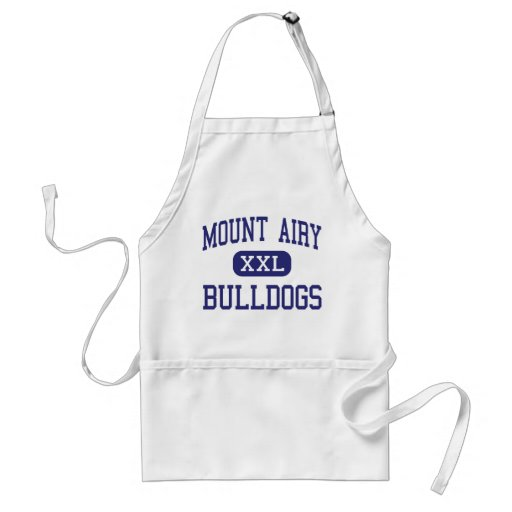 Mount Airy Bulldogs Middle Mount Airy Apron