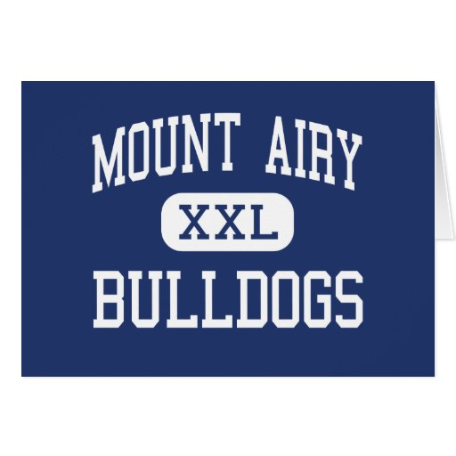 Mount Airy Bulldogs Middle Mount Airy Card