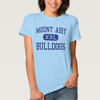 Mount Airy Bulldogs Middle Mount Airy T Shirts