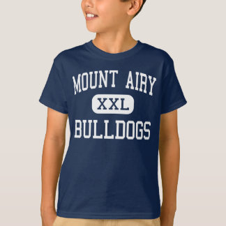 Mount Airy Bulldogs Middle Mount Airy Tee Shirt