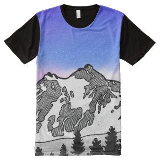 Mount Baker All-Over-Print T-Shirt