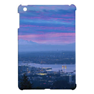 Mount Baker and Vancouver BC at Dawn Canada Case For The iPad Mini