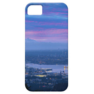 Mount Baker and Vancouver BC at Dawn Canada Case For The iPhone 5