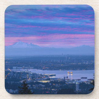 Mount Baker and Vancouver BC at Dawn Canada Coaster