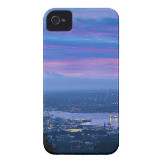 Mount Baker and Vancouver BC at Dawn Canada iPhone 4 Cover