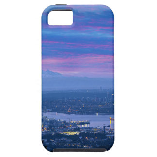 Mount Baker and Vancouver BC at Dawn Canada iPhone 5 Case