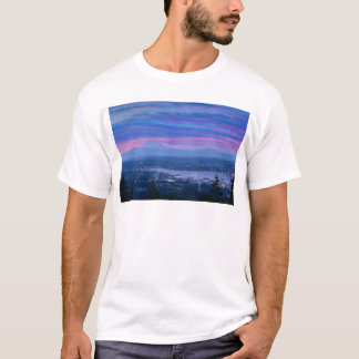 Mount Baker and Vancouver BC at Dawn Canada T-Shirt