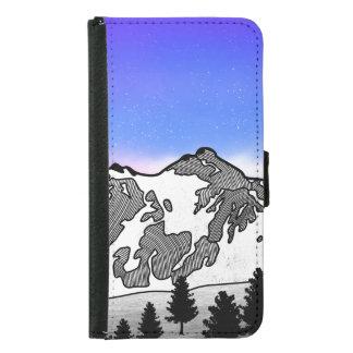 Mount Baker Samsung Galaxy S5 Wallet Case