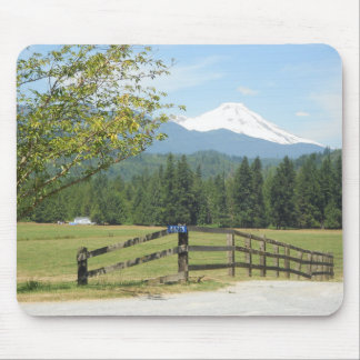 Mount Baker View Mouse Pad