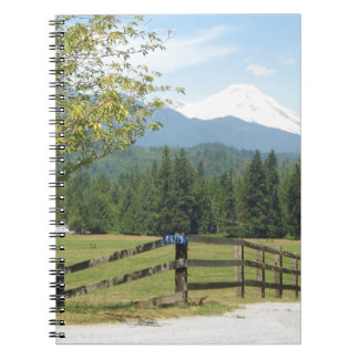 Mount Baker View Spiral Note Books