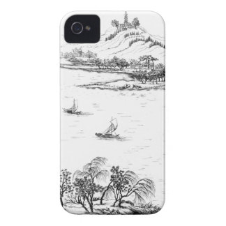 Mount Chang and Lake Chou, from 'Jardins Anglo-Chi Case-Mate iPhone 4 Cases
