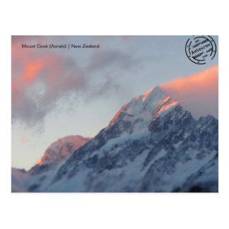 Mount Cook (Aoraki) (New Zealand) postcard