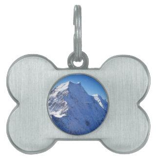 Mount Cook (Aoraki) Peak, New Zealand Pet ID Tag