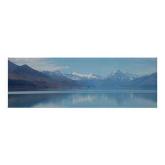 Mount Cook, New Zealand Poster