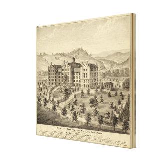 Mount de Chantal, near Wheeling, West Virginia Canvas Print