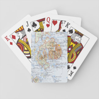 Mount Desert Island Map Playing Cards