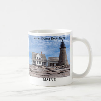 Mount Desert Rock Lighthouse, Maine Mug