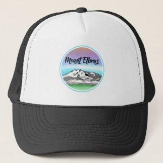 Mount Elbrus Caucasus Mountains Trucker Hat