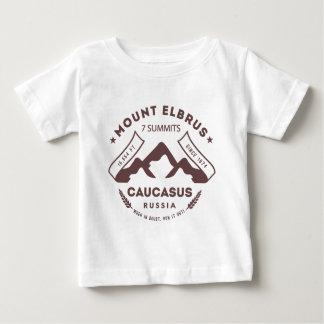 Mount Elbrus Caucasus Russia Baby T-Shirt