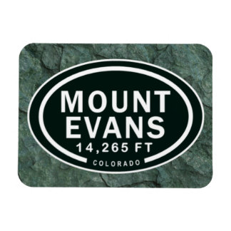 Mount Evans 14,265 FT Colorado Rocky Mountain Magnet