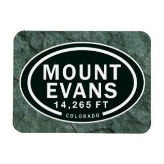 Mount Evans 14,265 FT Colorado Rocky Mountain Rectangular Photo Magnet